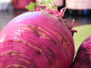 beetroot closeup