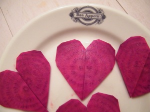 My heart on a plate