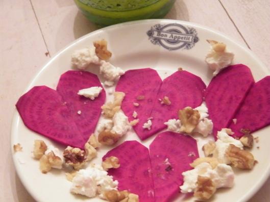 Heart Beet Salad